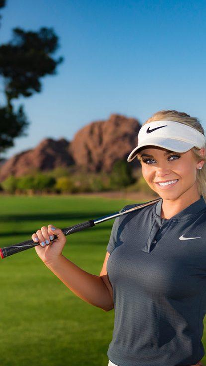 Hailey Ostrom Golfer Photo